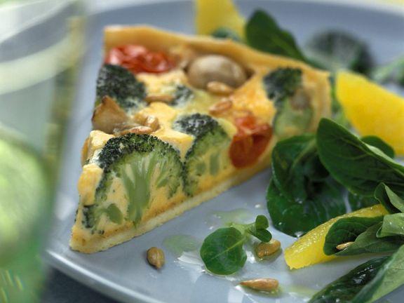 Gemüse-Quiche ist ein Rezept mit frischen Zutaten aus der Kategorie Quiche. Probieren Sie dieses und weitere Rezepte von EAT SMARTER!