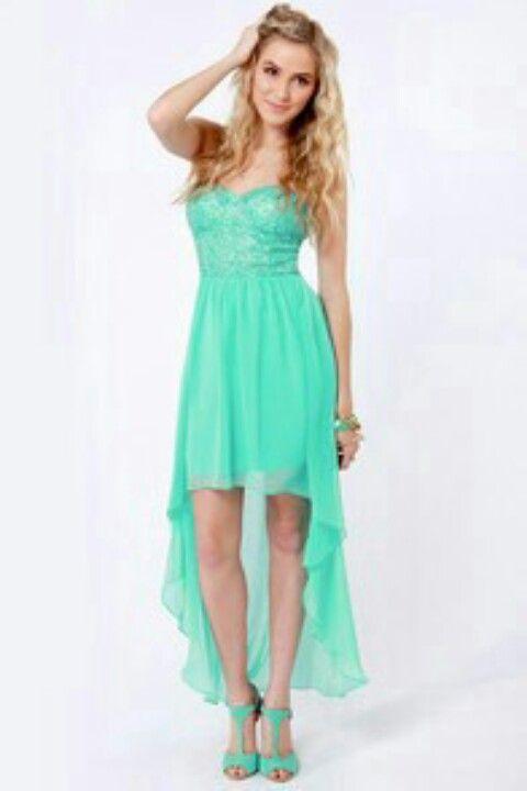 Teal Dresses for Juniors