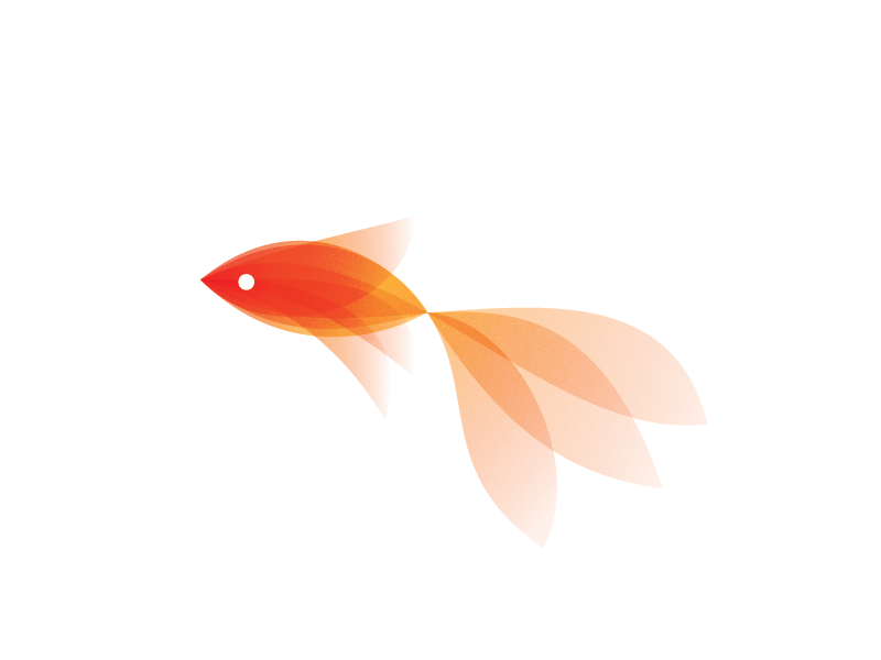 Goldfish Fish Logo Logo Design Logo Design Inspiration Creative