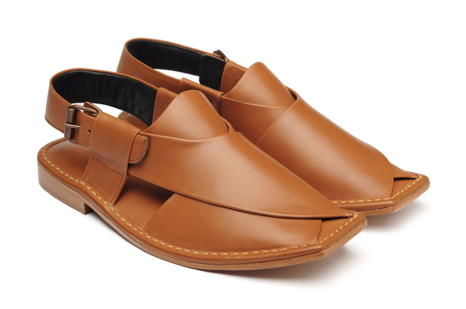 Peshawari Chappal is a traditional footwear of Pakistan, worn especially by  Pashtuns in the Khyber