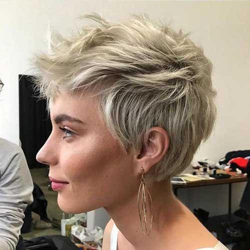 Erstaunliche Pixie Cuts für feines Haar #finehair