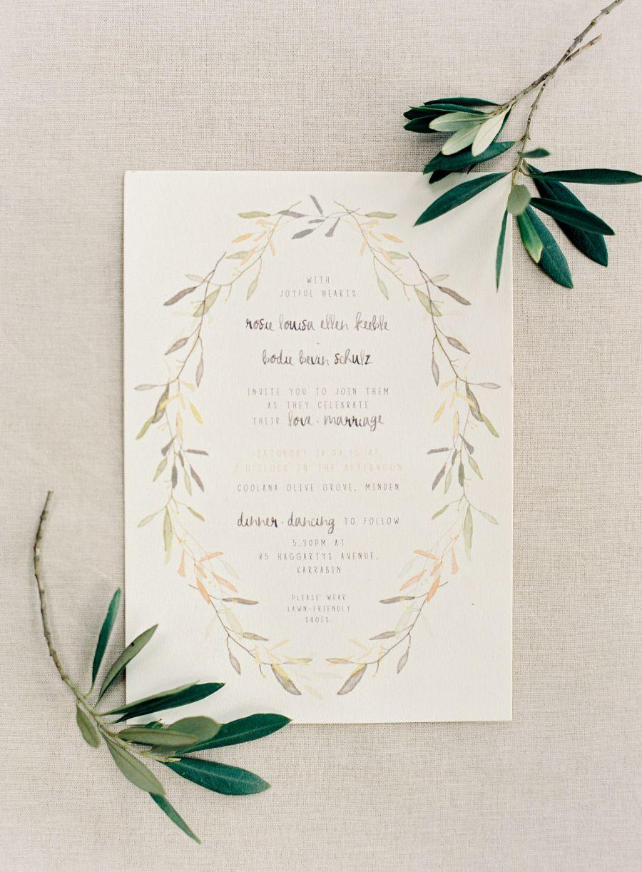Elegant Australian Olive Grove Wedding With Shades Of Silver