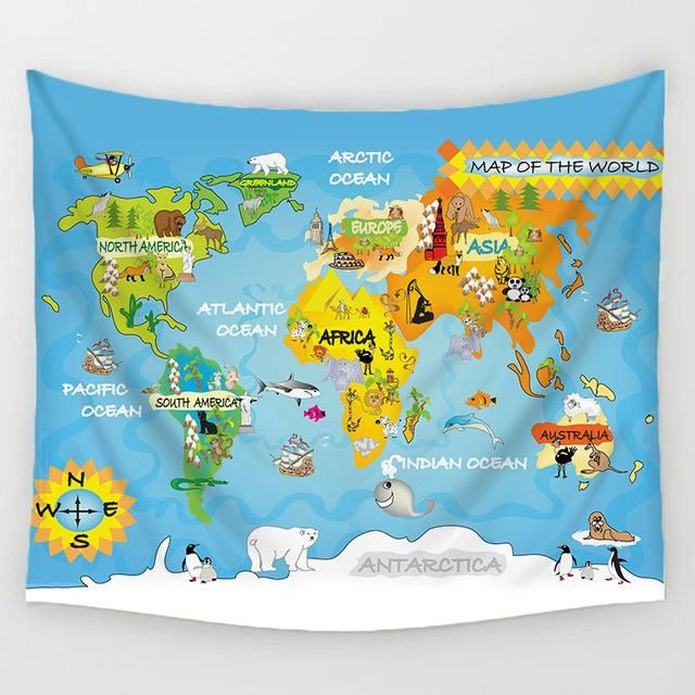 Our amazing world map blanket travel pinterest beach towel and our amazing world map blanket gumiabroncs Images