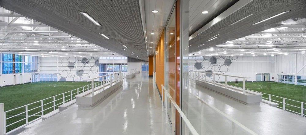 Architecture Brampton Soccer Centre MacLennan Jaunkalns Miller