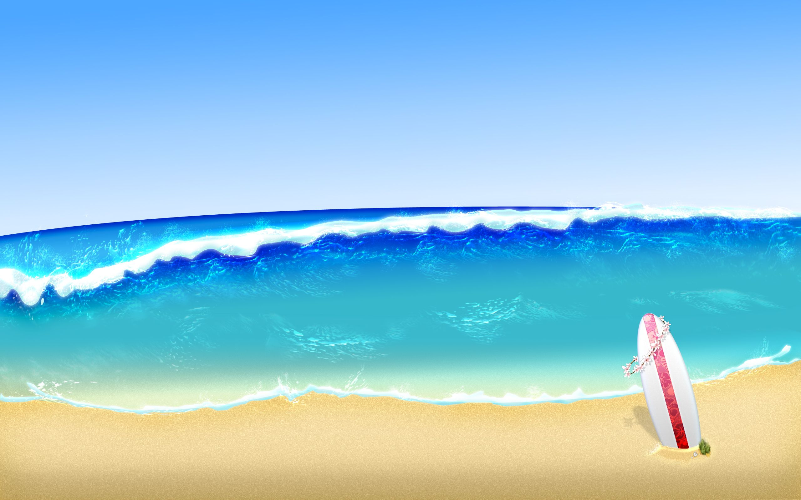 The Surfboard Artistic Wallpapers Artistic Wallpaper