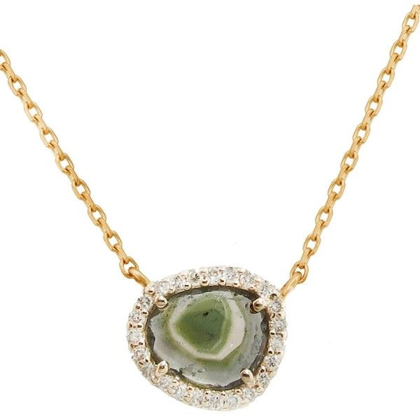 Celine daoust watermelon and diamond necklace yellow gold 1155 celine daoust watermelon and diamond necklace yellow gold 1155 liked on polyvore aloadofball Choice Image