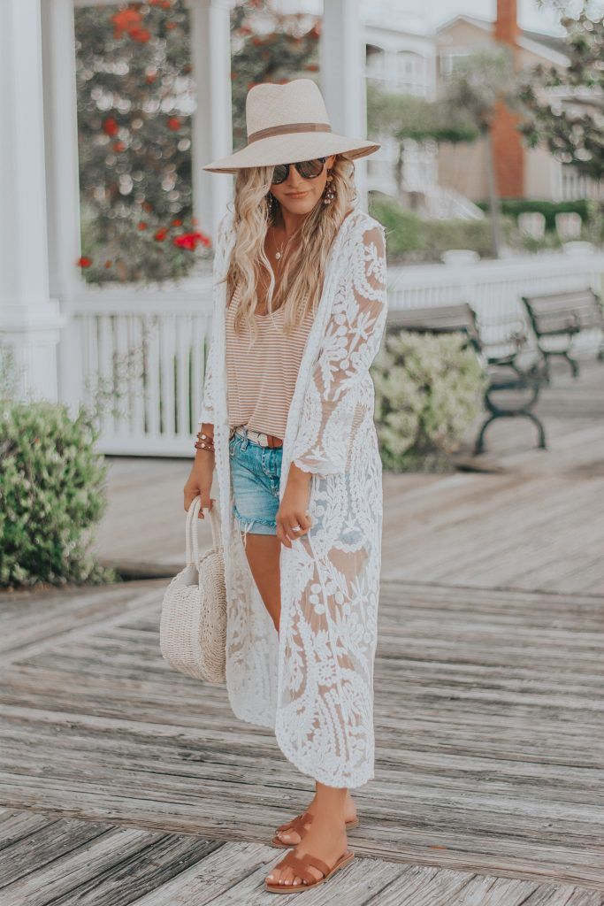 Affordable Fashion Finds | Gorgeous White Lace Duster (and some Nordstrom Anniversary Sale Details:)) | BreeAtLast.com