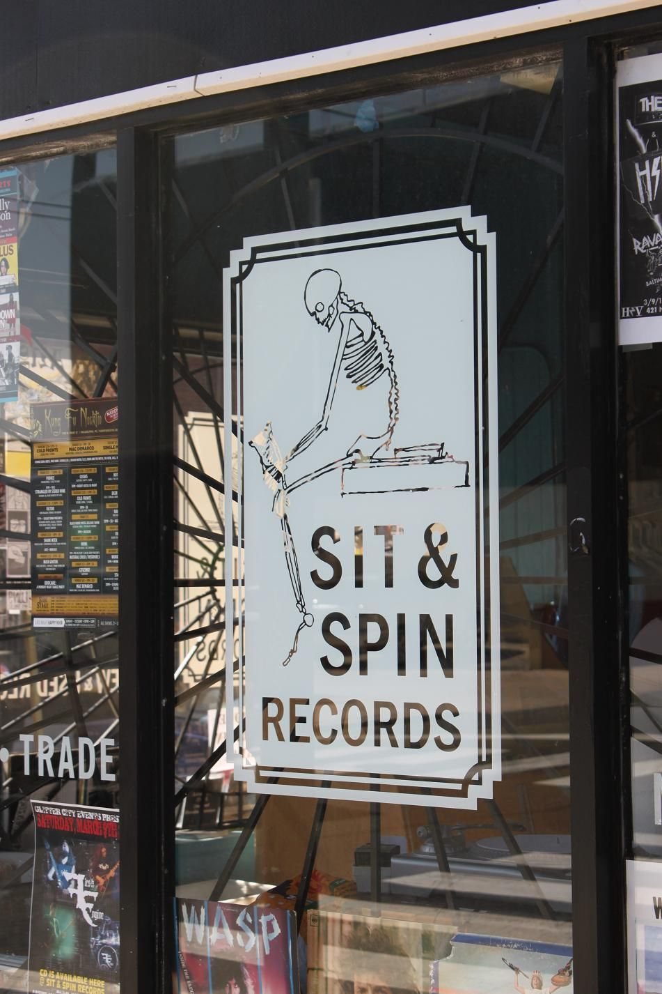 another record shop near my house - yay | Record stores