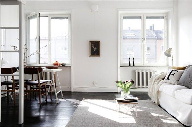 C mo decorar un departamento peque o apartamento for Como amueblar un departamento pequeno