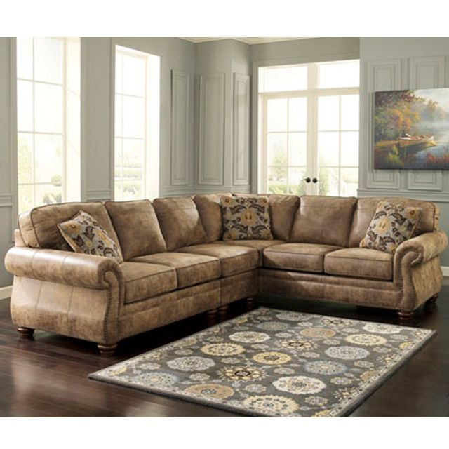 Larkinhurst Earth 3pc Sectional Bernie And Phyls For The Home Rh Au Com