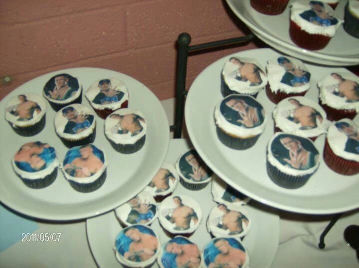 John Cena Cupcakes I made Cakes Ive made and Learning as I go