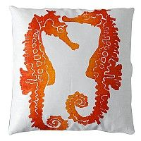Seahorse Clementine Pillow