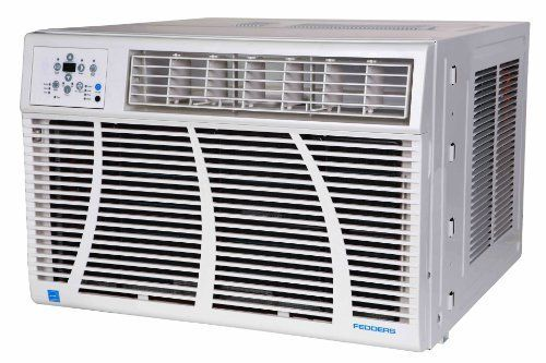 Fedders Az7r24e7a 24 000 Btu Window Room Air Conditioner With 9 4 Eer 1 400 Sq Ft Cooling Area Led D Room Air Conditioner Washable Air Filter Air Exchanger