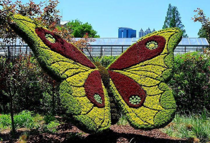 Pflanzskulpturen in Atlanta #botanicgarden