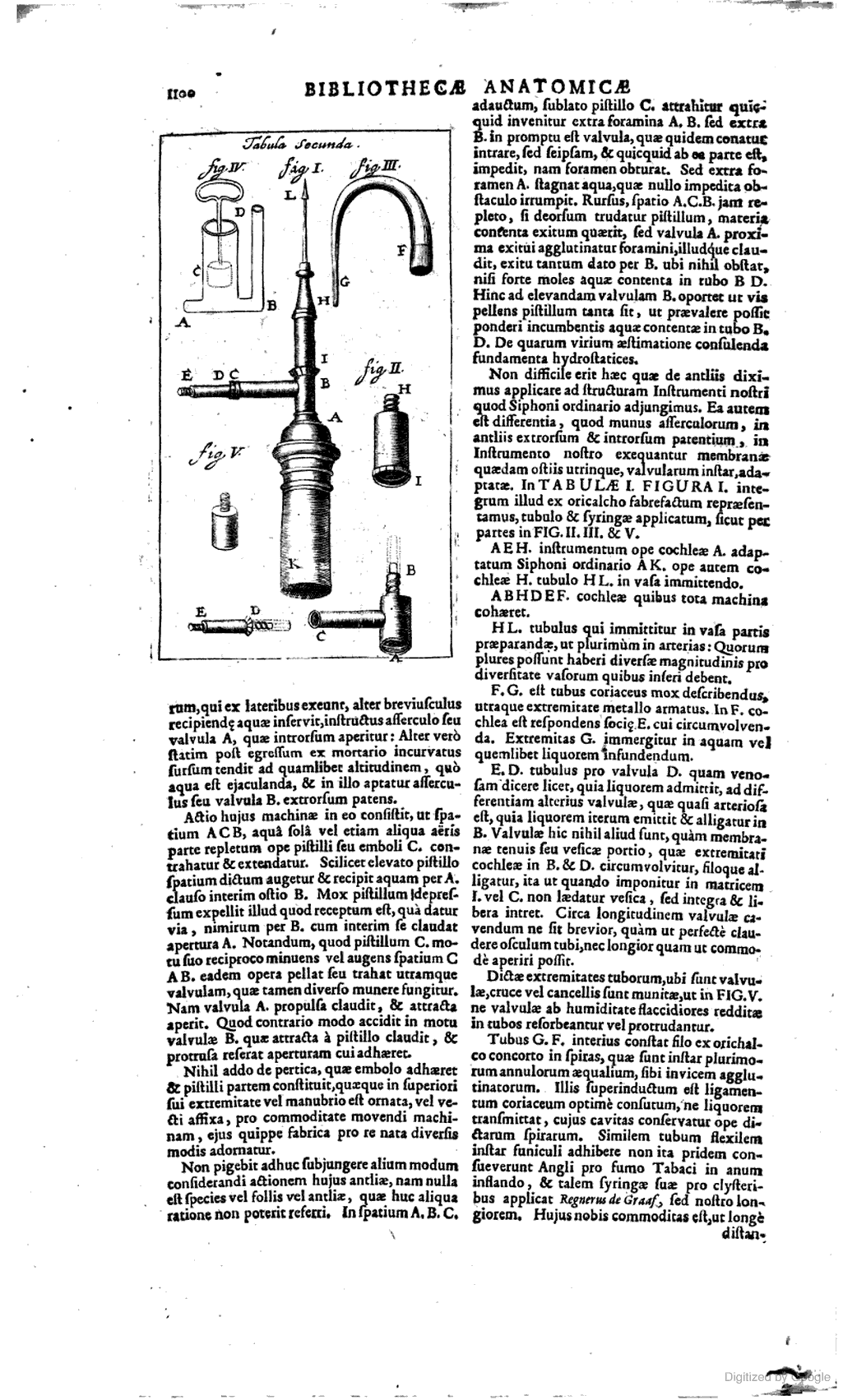 Bibliotheca anatomica, sive recens in anatomia inventorum thesaurus ...