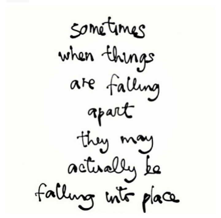 Falling Apart Quotes Tumblr: When Things Fall Apart