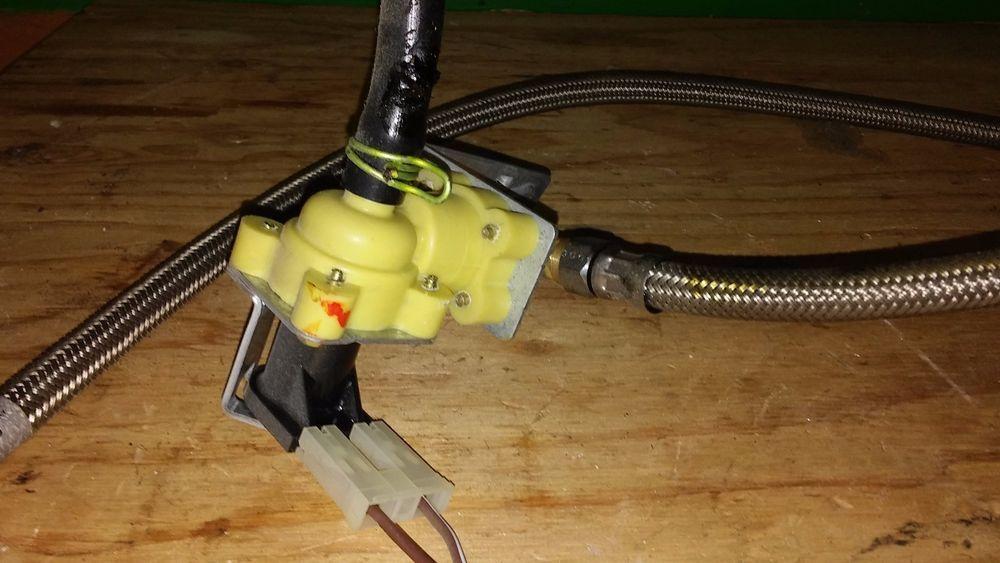 KitchenAid Dishwasher Water Inlet Valve W10844024 & Metal