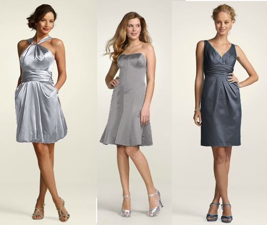 grey bridesmaid dresses | Ky\'s getting married!! | Pinterest | Grey ...
