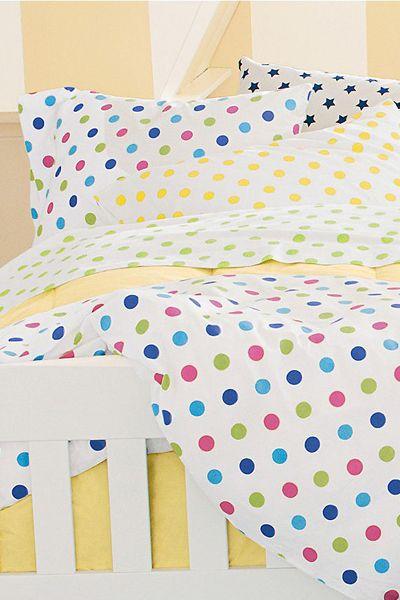 Merveilleux Polka Dot Bedding