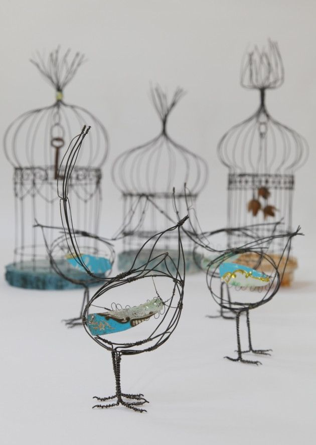 JillWalker #Birdcage #art from #Northwich | Garden | Pinterest ...