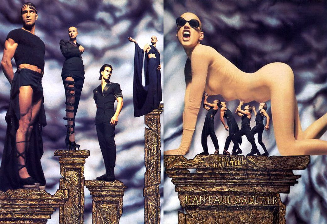 1993 - Jean Paul Gaultier adv