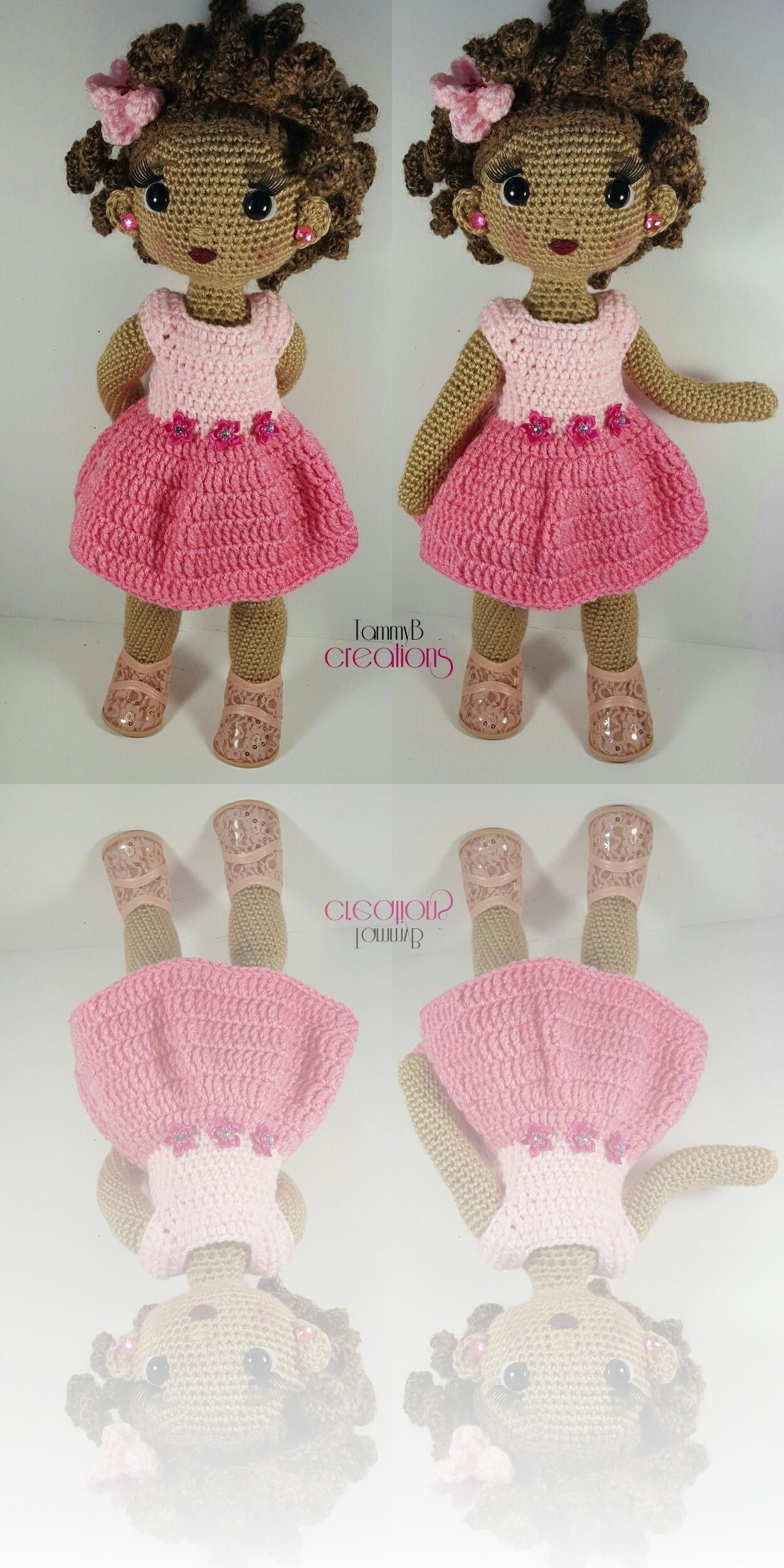 Crochet Pattern - Customizable Doll With Lots of Extras · Petals ... | 2500x1250