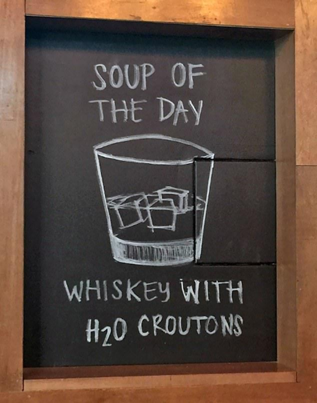 Online gallery shows creative signs restaurants use to win over guests