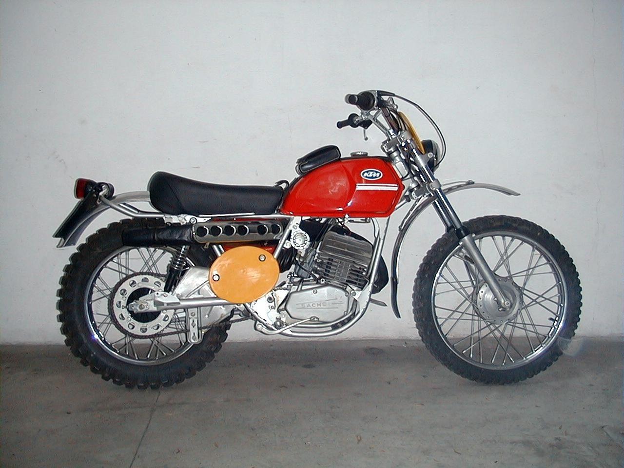 ktm 125 gs 1972 vintage dirt bikes enduro motorcycle. Black Bedroom Furniture Sets. Home Design Ideas