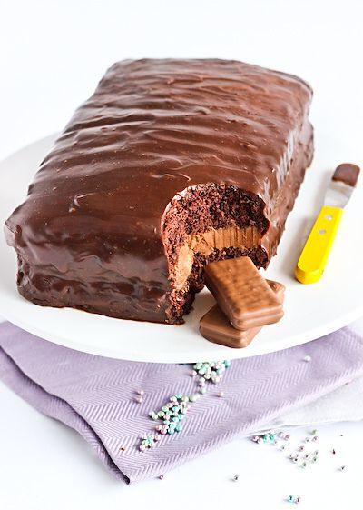 DROOL! Totally gotta make this sometime...Tim Tam Cake