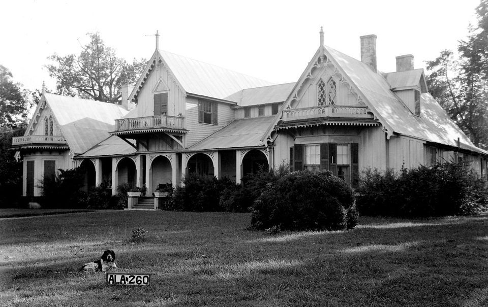 Alabama's surviving examples of Carpenter Gothic homes