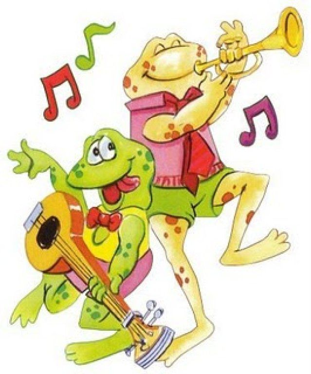 music frogs