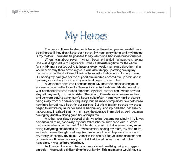 heroes essay how to write your hero essay expository essay heroes  my hero essay my apple hero essay gcse english my hero essay