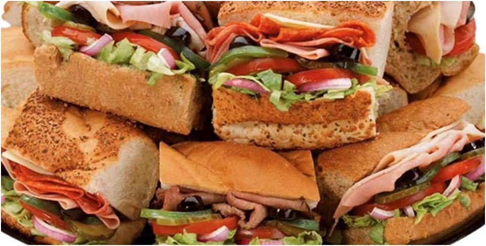 Delijous delivers a fresh sandwich straight to your desk
