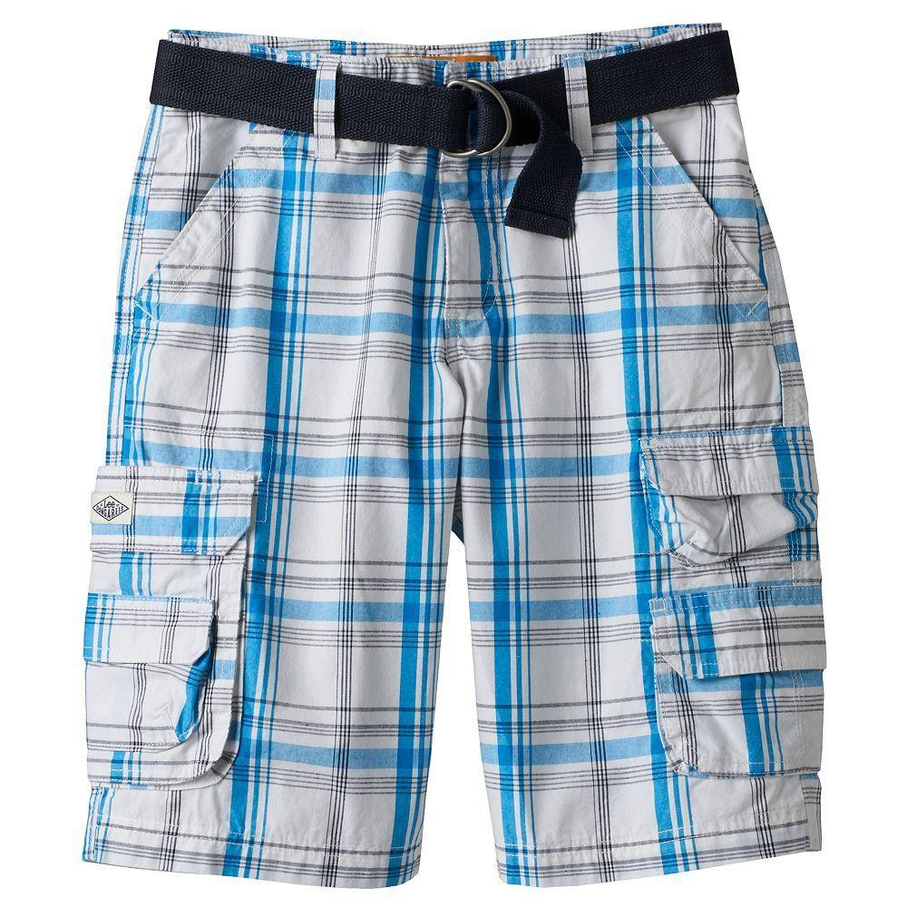 2a41f767dd Boys 8-20 & Husky Lee Twill Cargo Shorts | Products | Pinterest ...
