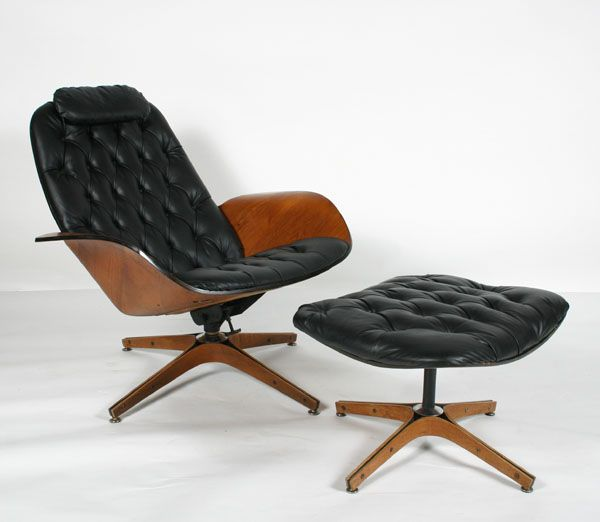 Superbe The Plycraft Lounge Chair And Ottoman By George Mulhauser. Some Say It Is  More Comfortable Than The Eames Recliner Of The Same Era.
