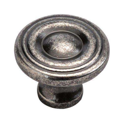 """Hickory P3500-BNV Black Nickel Vibed 1 1//4/"""" Mushroom Cabinet Knob Pulls Altair"""