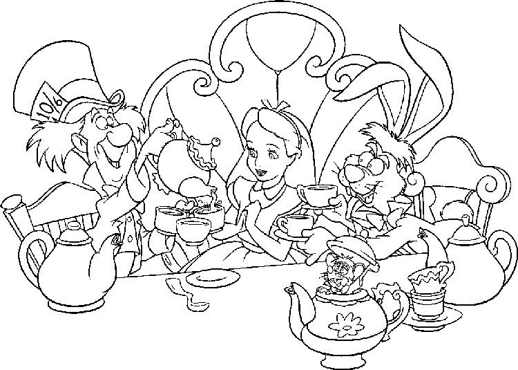 Alice In Wonderland Coloring Pages Free Coloring Sheets Alice In Wonderland Characters Alice In Wonderland Drawings Alice In Wonderland Flowers
