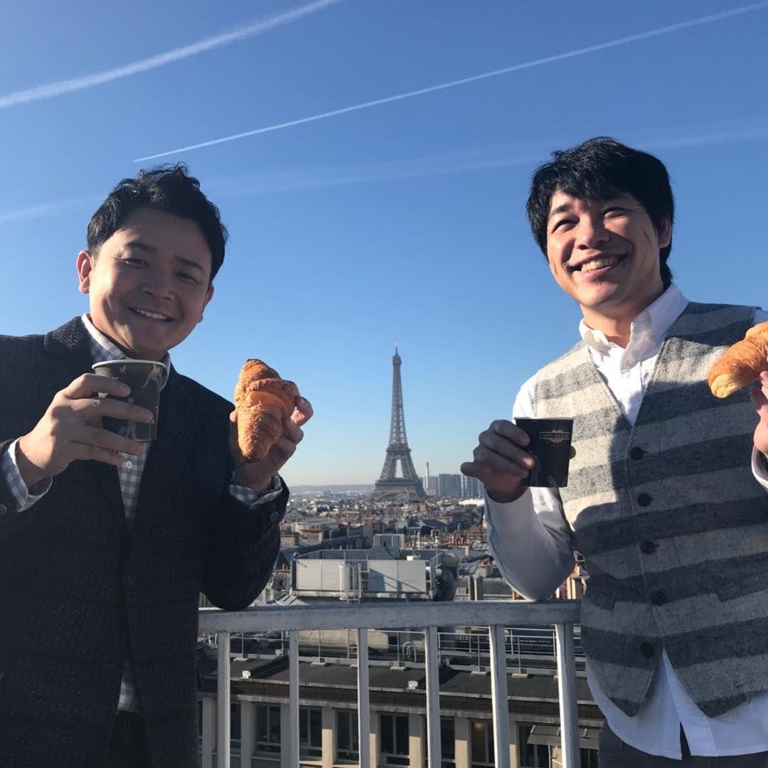 千鳥ノブ On Instagram パリに来ました 競馬凱旋門賞観戦に 麒麟