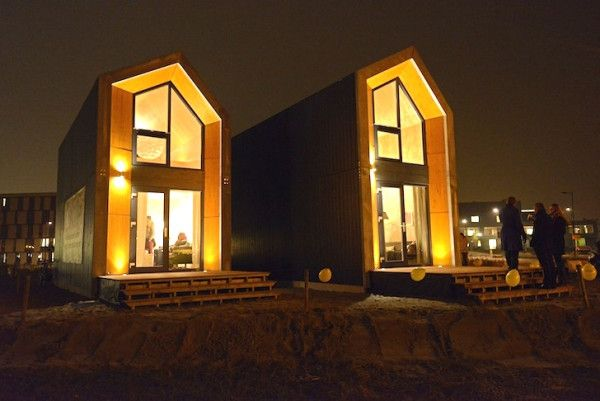 Heijmans ONE Prefab Tiny Houses Published on JANUARY 12 2015