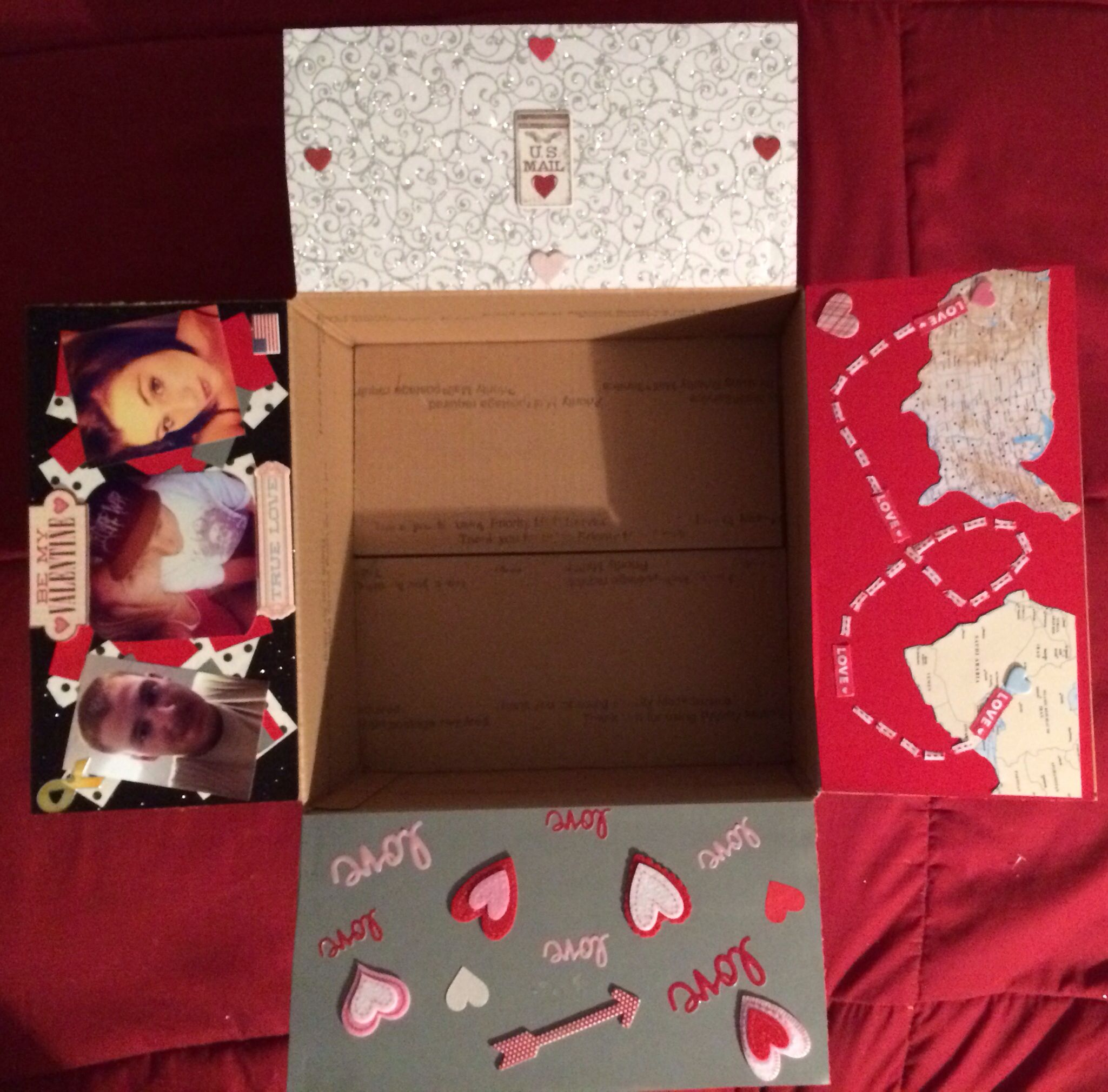 valentine's day care package ideas