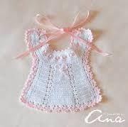 Resultado de imagen de puntillas de crochet para gasas de bebe