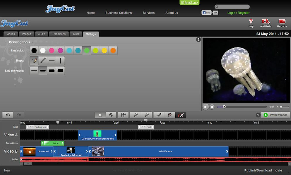 JayCut Video Editing on a Chromebook Video editing