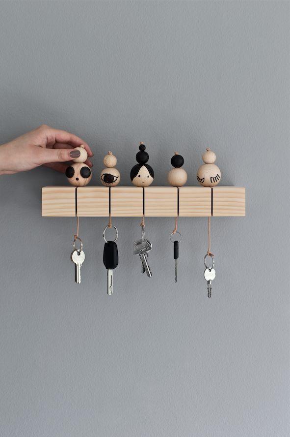19 Diy Key Holder Ideas The Most Adorable Ideas