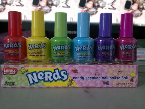 I don\'t use nail polish anymore but this is interesting: Nerds ...