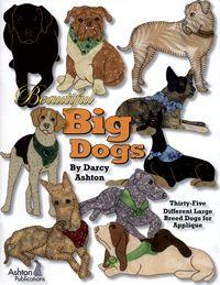 Beautiful Big Dogs pattern book by Darcy Ashton - wish list