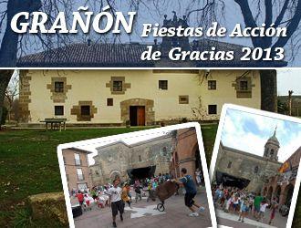 #Grañón celebrará sus #Fiestas de Acción de Gracias 2013 con un animado programa #FiestasRiojanas