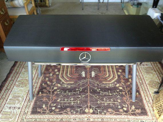 Mercedes Benz Sl500 R129 Carbon Fiber Desk Love The Look Of Carbonfiber Vinylwraps Wrap Anything And Get 2 Car Part Furniture Carbon Fiber Vinyl Vinyl Wrap