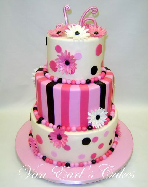 Birthday Cake Images Nice : Nice And Sweet 16 Birthday Cakes Boys Birthday Cakes ...