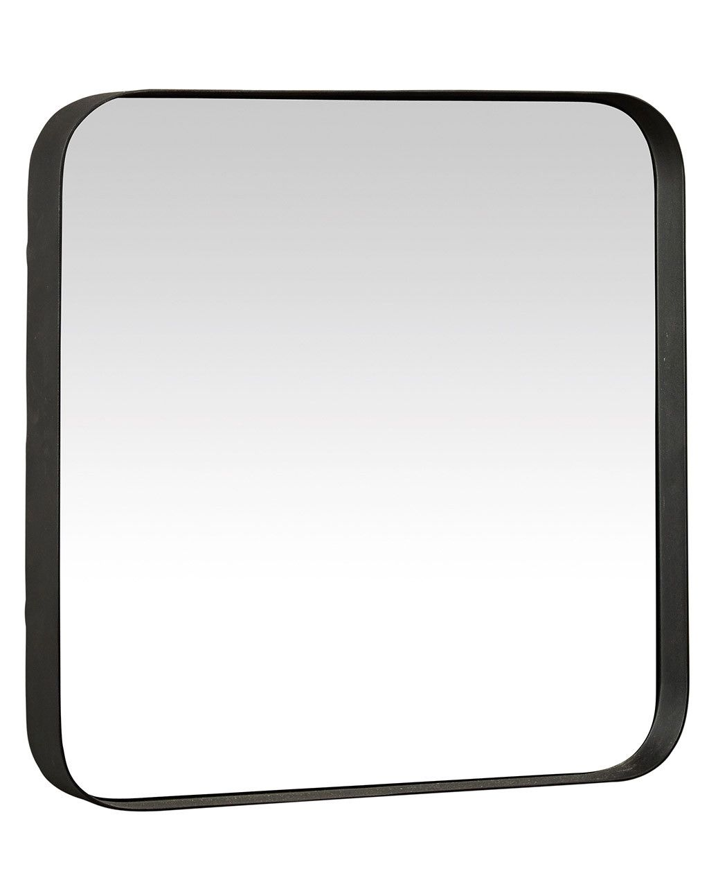 Mirrordeco Kelly Square Mirror With Black Frame Medium H 40cm Black Mirror Frame Black Wall Mirror Mirror Wall