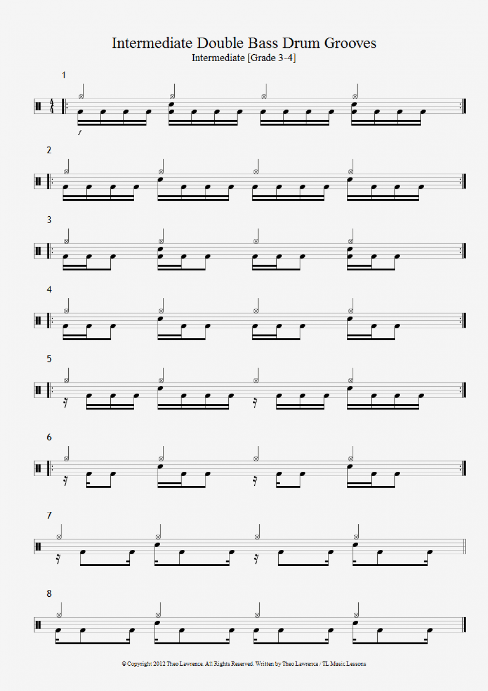 8 Metal Double Bass Drum Beats Beginners To Advanced